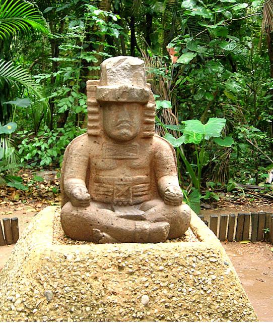 Monument 77, Olmec sculpture, La Venta Museum, Villahermos