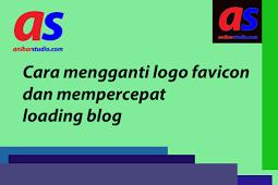 Cara mudah mengganti logo favicon dan mempercepat loading blog - seo | anibarstudio.com