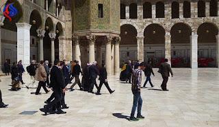 العراقيون يذهبون الى سوريا للسياحة وزيارة المراقد الدينية المقدسه بأعداد كبيره 2017