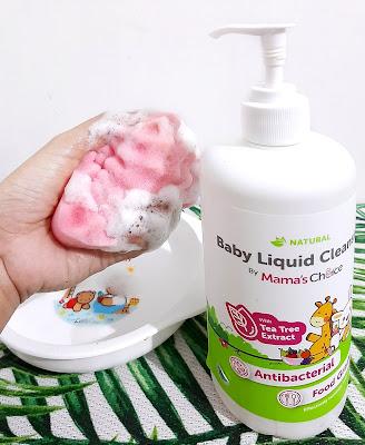 Sabun cuci piring untuk bayi