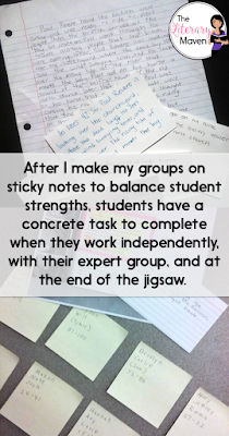 The jigsaw strategy was my number one technique this past year for turning the chattiness of my class into purposeful, academic conversations. Read on for the specifics of how I use this technique to build up students' summarizing skills.