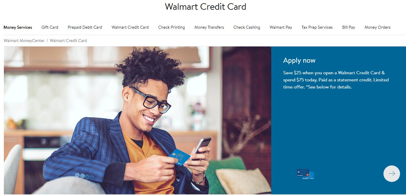 Walmart Credit Card Login | Walmart Credit Card Account