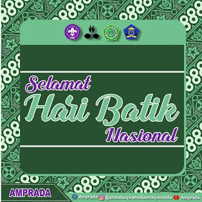 Desain Ucapan Selamat Hari Batik Nasional Keren