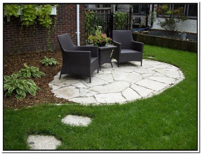Pics Of Stone Patios Sweet Design
