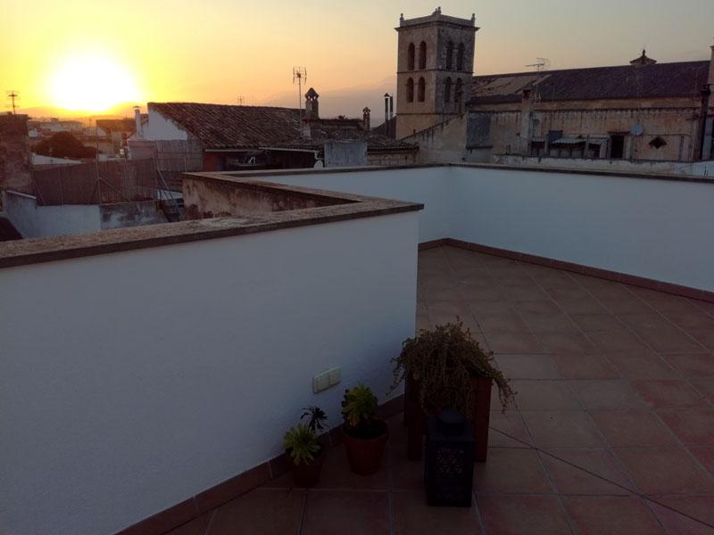 Primo marzo e anche oggi il sole tramonta :-)