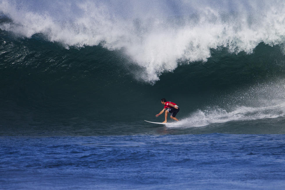 5 Gonzalo Zubizarreta 2015 Vans World Cup Fotos WSL Laurent Masurel