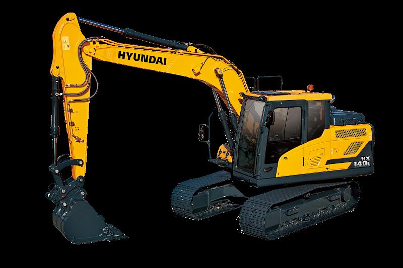 Hyundai Excavators HX140L