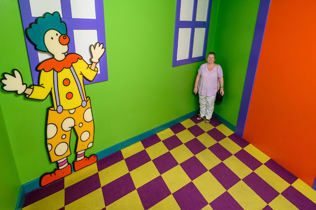 Ames Room at EnterTRAINment Junction