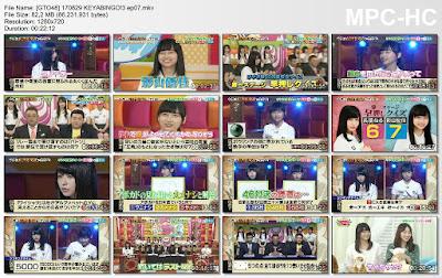 170829 KEYABINGO!3 Ep 07 Subtitle Indonesia