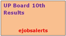 UP Board 10th Results 2017