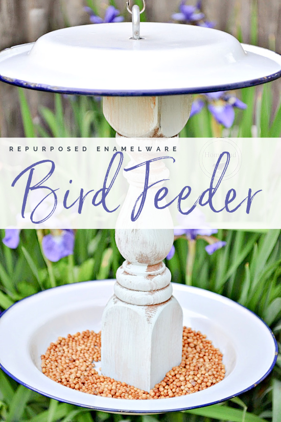bird feeder with overlay