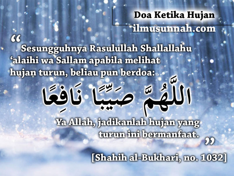 Rabia Sensei: Doa Ketika Hujan