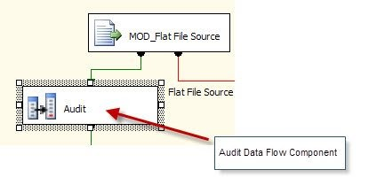 Ram's Blog: SSIS - Audit Transformation