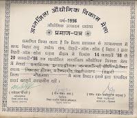 best performance certificate