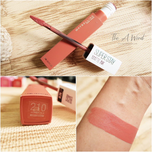 REVIEW Maybelline Super Stay Matte Ink 210 Versatile
