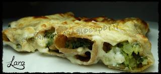 http://cucinaconlara.blogspot.it/2017/10/cannelloni-di-farro-con-patate-e-spinaci.html