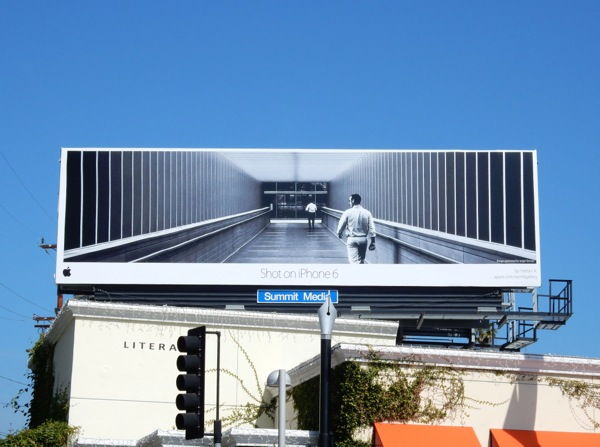 Apple Shot on iPhone 6 billboard