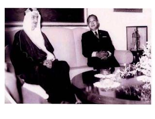 Raja Faisal Mengunjungi Indonesia Tahun Silam