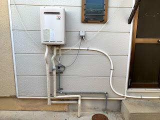 水道工事を施工しました。