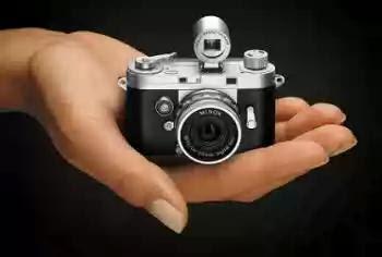 Atención bloguer@s. Preciosa y práctica  Minicamara digital Minox, para sentirse como un espía de la CIA