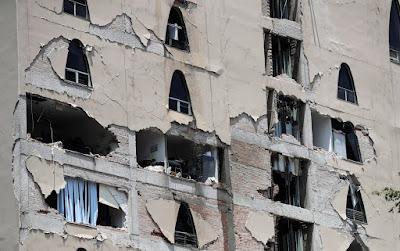 Mexikó, Mexikóváros, földrengés, természeti katasztrófa