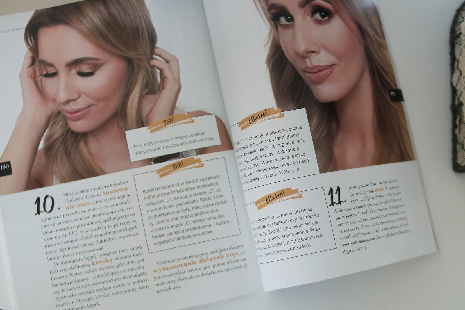 książki z makijażem