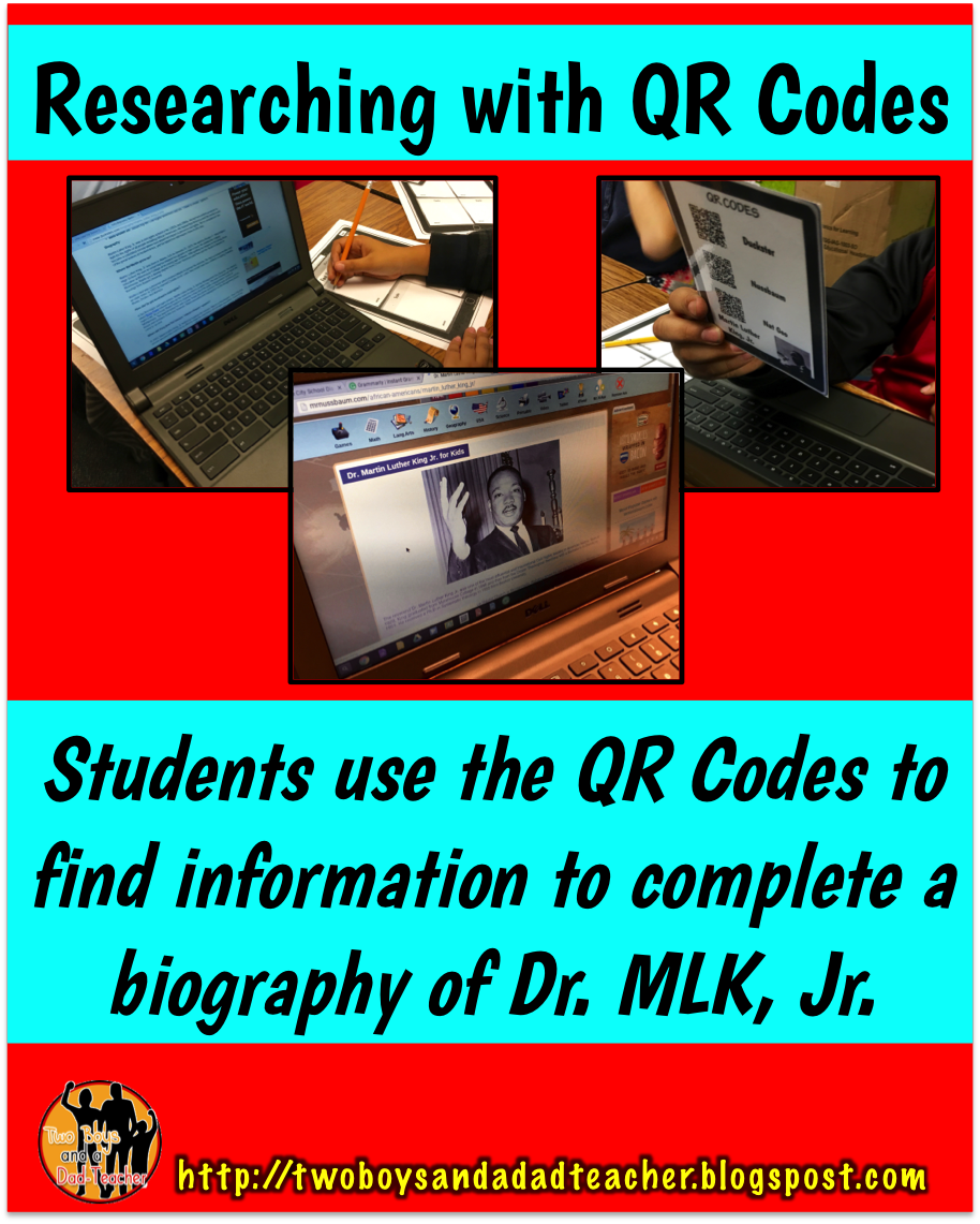 Researching with QR Codes