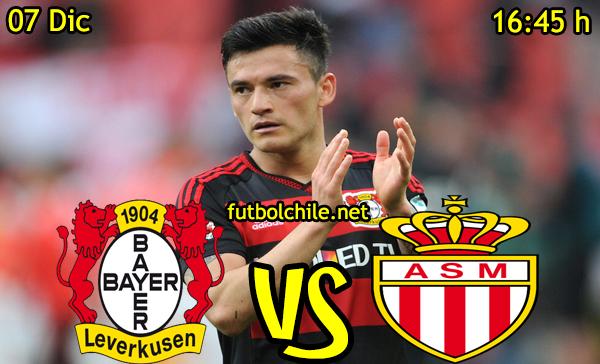 Ver stream hd youtube facebook movil android ios iphone table ipad windows mac linux resultado en vivo, online:  Bayer Leverkusen vs Monaco