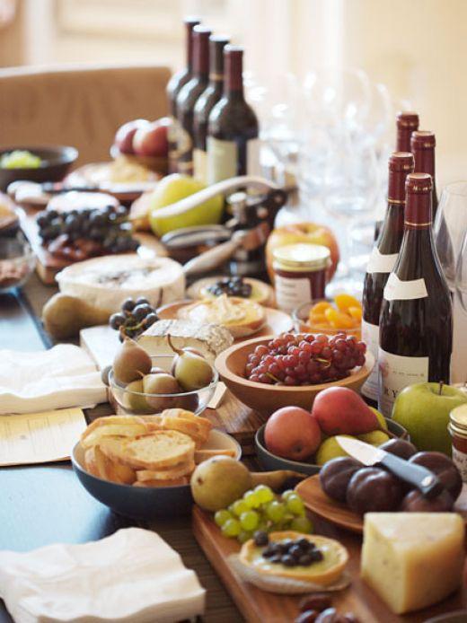 Средиземноморская диета красное вино