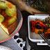 Bizcocho salado de calabacín