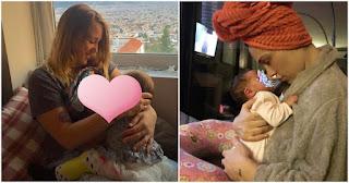 Η Πηνελόπη Αναστασοπούλου ανέβασε φωτογραφία με το νεογέννητο μωρό της