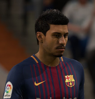 FIFA 18 Faces Paulinho by Seif.Ahmed31