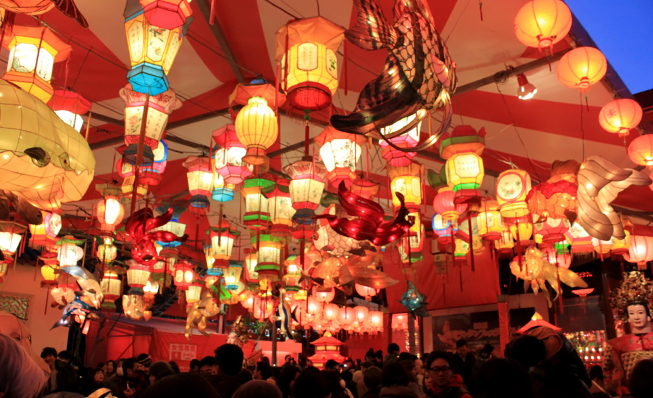 Festival Lampion Nagasaki