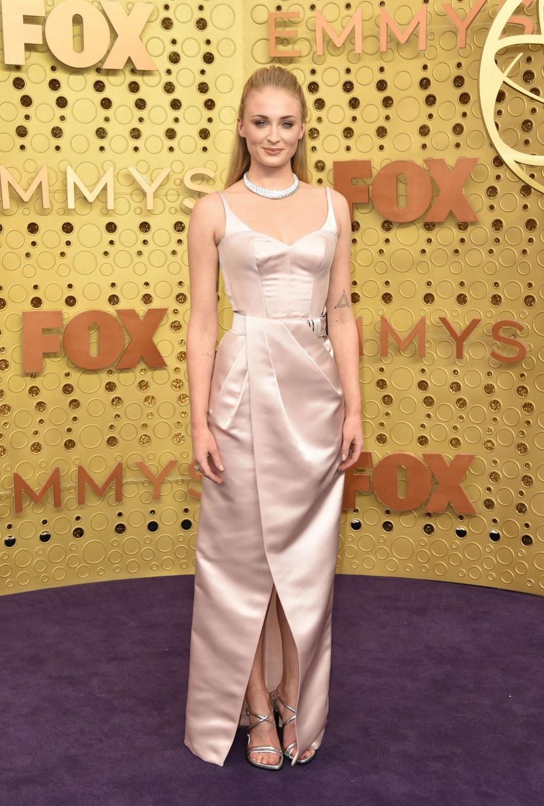 Sophie Turner dazzles in Louis Vuitton at the 2019 Emmy Awards in Los Angeles