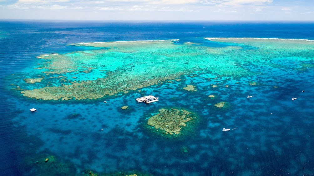 Круиз по рифу Азенкур, Большой барьерный риф