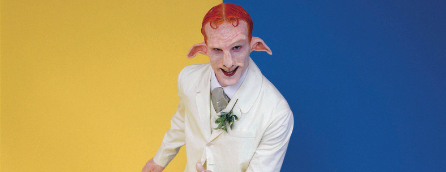 with bubbles: Matthew Barney