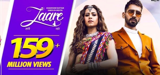 LAARE LYRICS - Maninder Buttar | Sargun Mehta