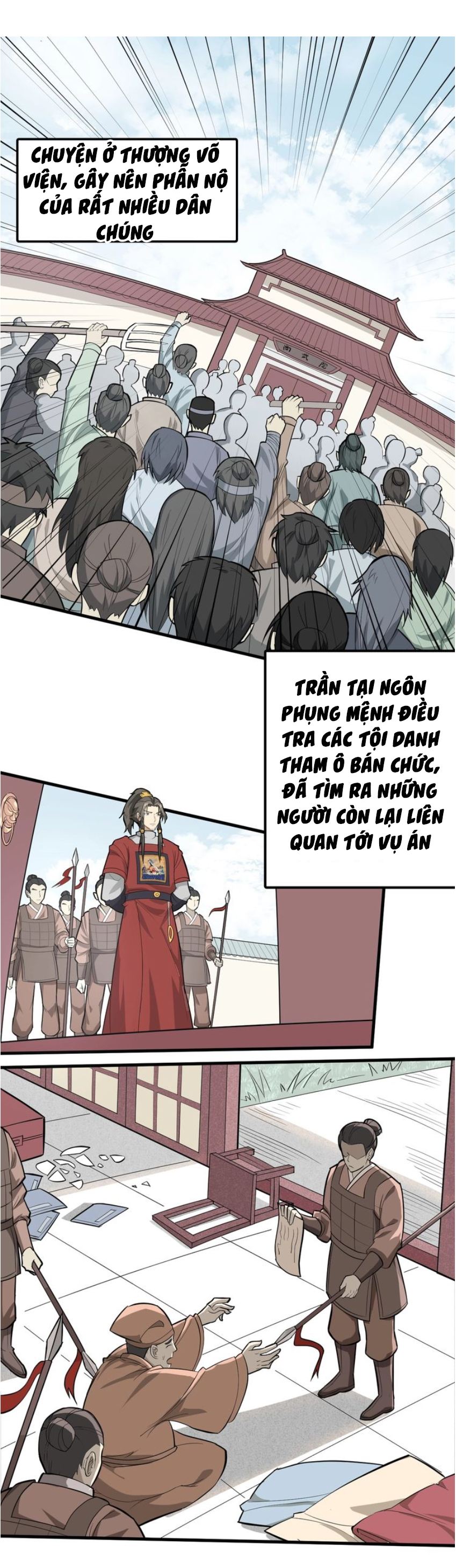 Đại Nghịch Chi Môn Chapter 55 video - Hamtruyen.vn