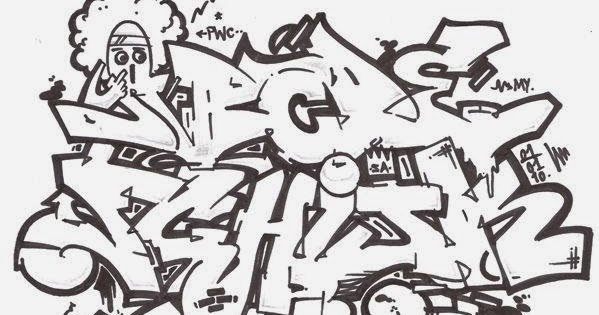 Graffitie: alphabet graffiti wildstyle