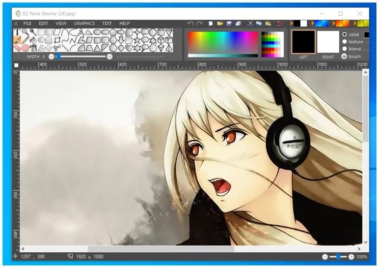 EZ Paint :  Δωρεάν εναλλακτικό πρόγραμμα του MS Paint