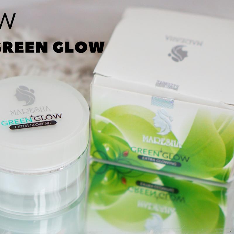 Review Maresha Green Glow Untuk Meratakan Warna Kulit