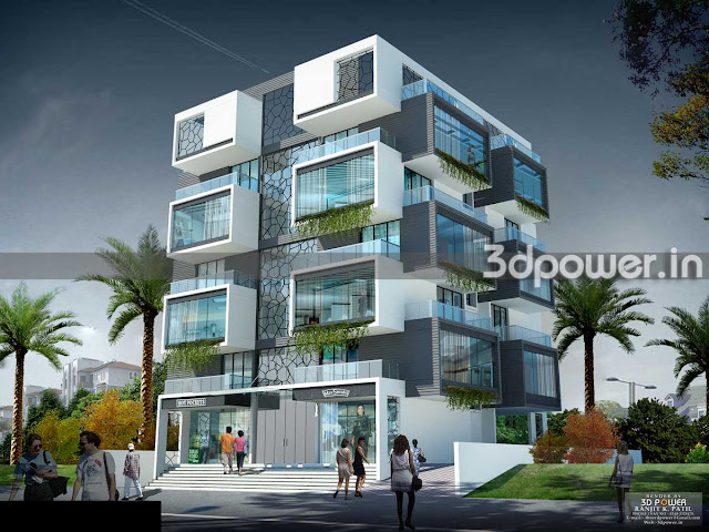 Township Apartment 3D Rendering