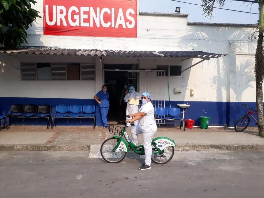 Esta iniciativa nació, hace 119 días, con el objetivo de buscarle una alternativa de transporte al personal de la salud, ya que la prestación del transporte público colectivo en Villavicencio