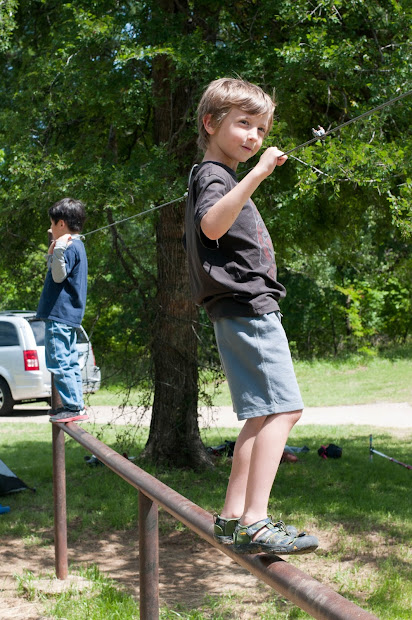 Cub Scout Camping Activities - Year of Clean Water