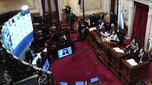 Firman dictamen del proyecto de ley de reforma judicial