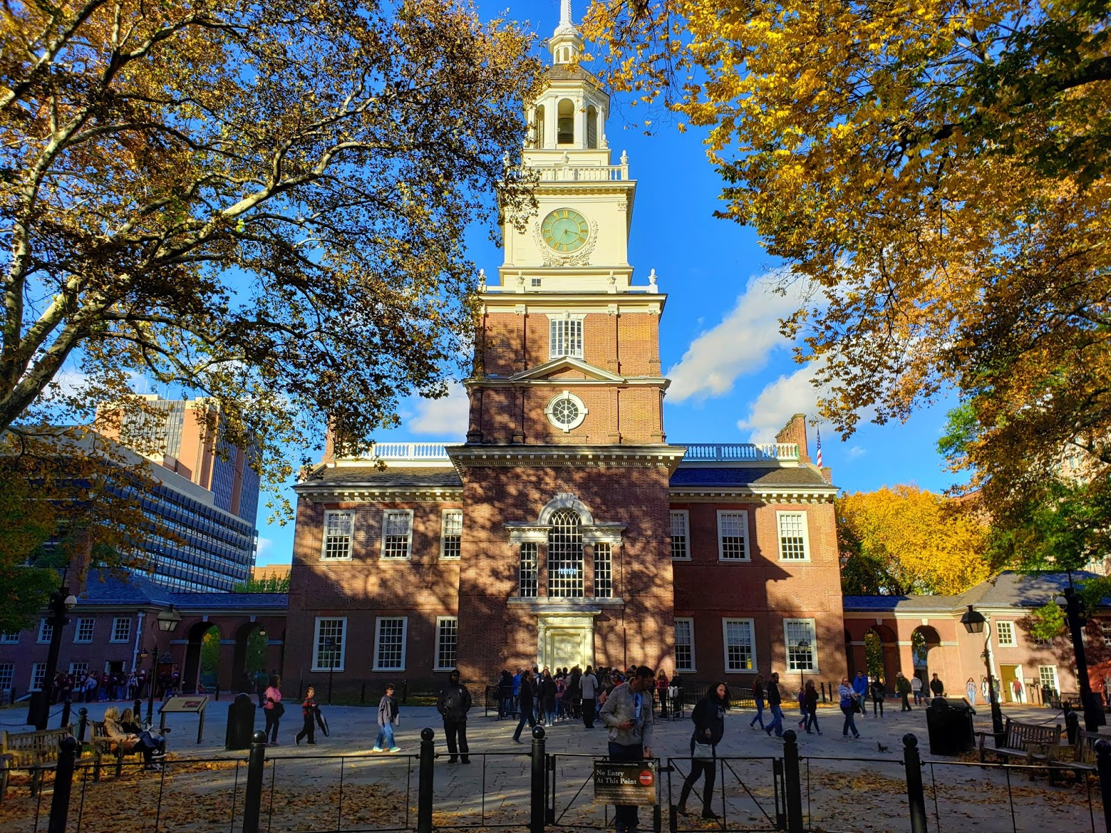 Independence Hall, South Gate