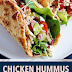 Chicken Hummus Naan Wraps (Easy 15 Minute Meal)