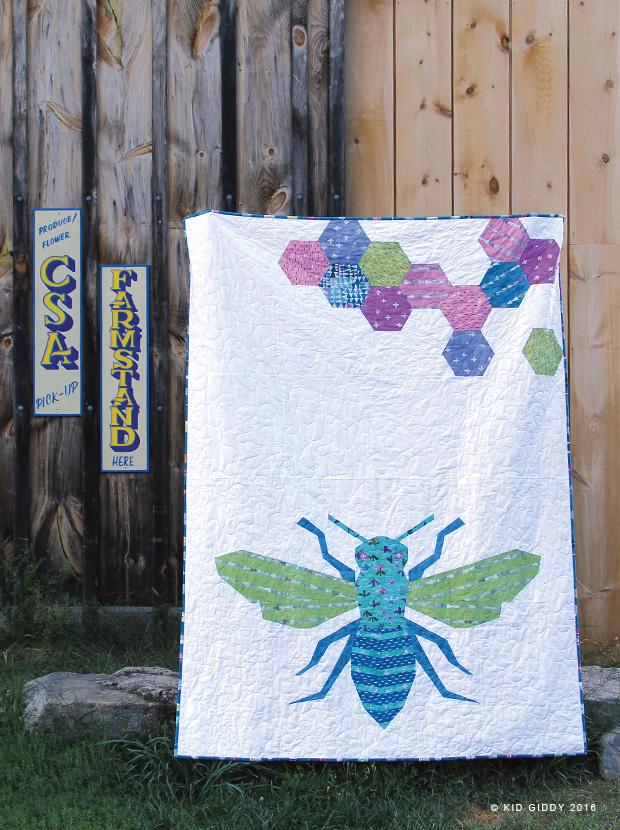 Kid Giddy aka Kerry Goulder: Sewing Patterns, Crafts, DIY, Recipes ... : bee quilt pattern - Adamdwight.com