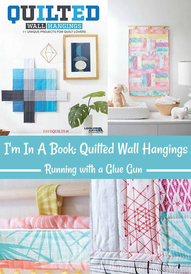 I'm In A Book: Quilted Wall Hangings