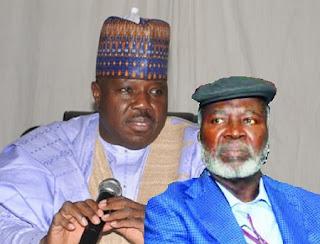 Ali Modu Sheriff and Bode Olajumoke